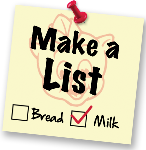 Create Shopping List